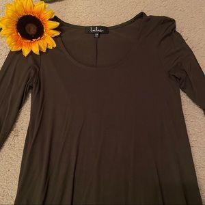 Lulu's Olive Green Dress